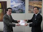 「東日本大震災みやぎこども育英基金」へ寄付